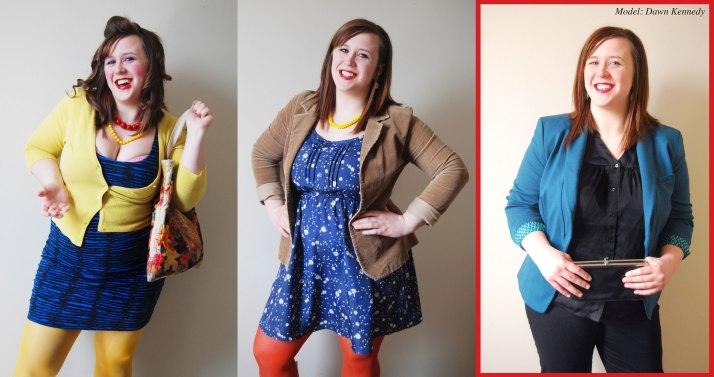 """Učesnica čuvene emisije za modne preobražaje """"What Not To Wear"""" (before/after)"""