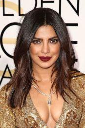 Chestnut Ends: još jedan two-tone trend. Prelijepa Priyanka Chopra odabrala je egzotičnu boju - kosa joj se prelijeva od bogate čokoladno smeđe do tople kestenjaste nijanse. Zasigurno ide u moj bookmark!