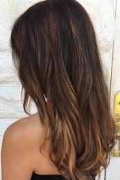 Eclipting je Avedina prošlogodišnja tehnika, bojenja cijele kose u tamniju bazu a potom posvjetljivanje pramenova, strateški, tako da se farbaju samo krajevi naglašeni prethodnim šišanjem, naglasi oblik frizure i ispoštuju konture i kose i lica.
