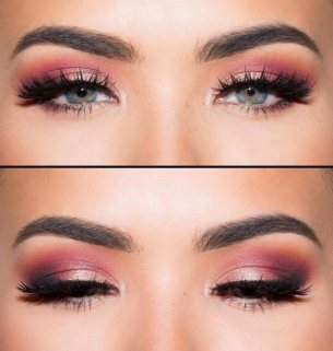 abiball-make-up-pink-rosa-highlights-blaue-augen