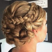 hair, hairstyle, low bun, updo, bride, prom, wedding, frizure, punđe, vjenčanje, matura
