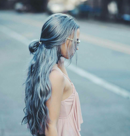 ombre balayage grey hair hairstyle grombre