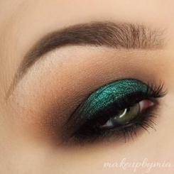 pantone, greenery, boja godine, color of the year 2017, green, fashion, style, makeup, šminka