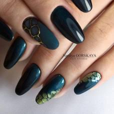 pantone, greenery, boja godine, color of the year 2017, green, fashion, style, nails, nailart, manicure