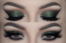 pantone, greenery, boja godine, color of the year 2017, green, fashion, style, makeup, šminka