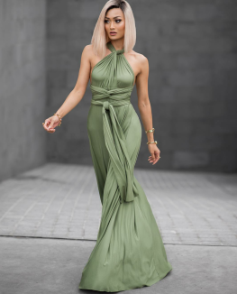 pantone, greenery, boja godine, color of the year 2017, green, fashion, outfit, modne kombinacije, style, dress