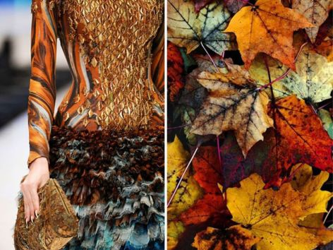 Alexander-McQueen-S-S-2010-Autumn-Leaves