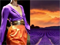 Gucci-S-S-2011-•-•-Lavender-field-at-sunset-in-Provence-France