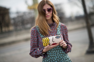 Day 5 - Street Style - Paris Fashion Week - Womenswear Fall/Winter 2015/2016