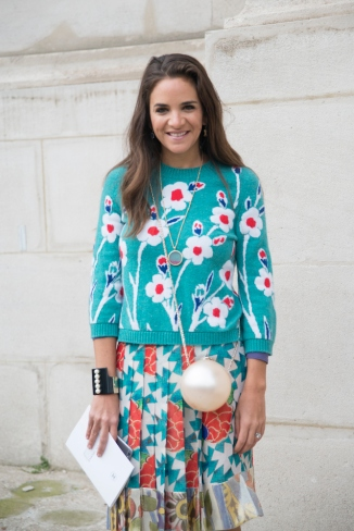 Street Style - Day 3 - Paris Fashion Week : Haute Couture S/S 2015